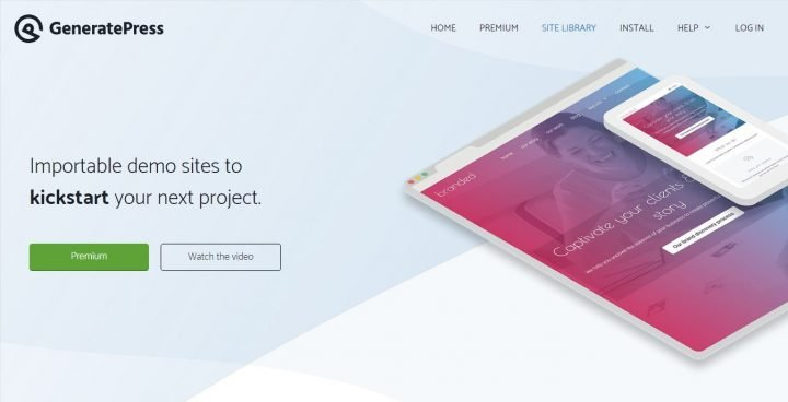 GeneratePress Screenshot