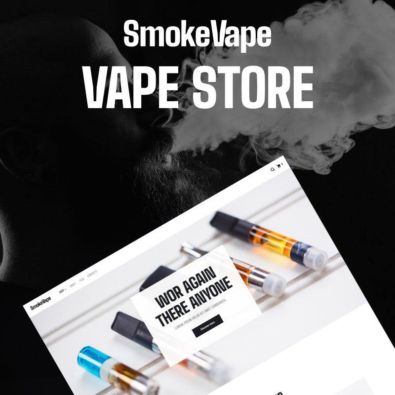 SmokeVape WooCommerce Theme