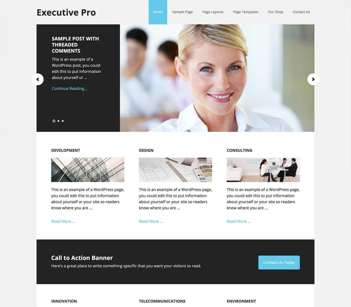 Executive Theme Pro